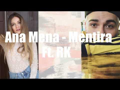 Ana Mena - Mentira Ft. RK (Letra)