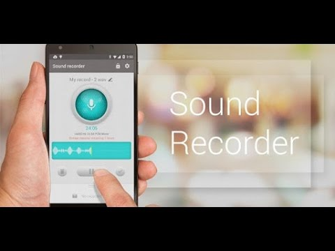 Recordr - Sound Recorder Pro (by Hoot Apps) - sound recording app for android.