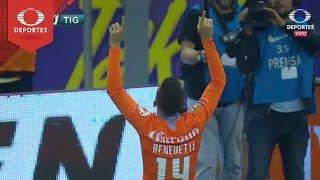 Gol de Nicolás Benedetti | América 3 - 0 Tigres | Clausura 2019 - J12 | Televisa Deportes