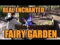 the enchanted fairy garden | real fairy story | magic trees