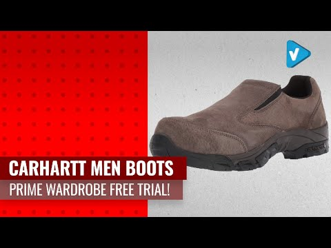 Try Your New Carhartt Men Boots Now On Amazon Prime Wardrobe Free Trial!