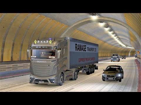 ★ Live Stream ★ ETS 2. map. ProMods +Rus map v. 2.25 # 39
