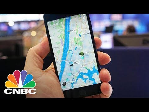 Snapchat Has A New Feature Called 'Snap Map'-Here's How It Works | CNBC