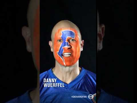 Danny Wuerffel Shows His Game Face