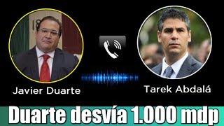 Javier Duarte desvía 1.000 mdp al PRI (Audio)