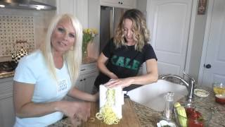 Zucchini Pasta With Asian Sauce | Goldy Locks Fitness | Gourmet Vegan Delights