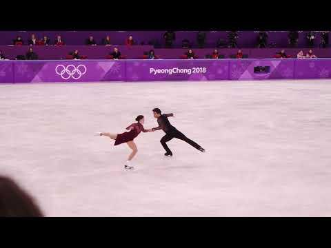 2018 pyeongchang olympic tessa virtue&scott moir FD moulin rouge (테사 스캇 FD 직캠)