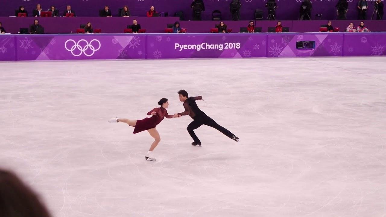 Ζευγάρια Ολυμπιακών Αγώνων πατινάζ