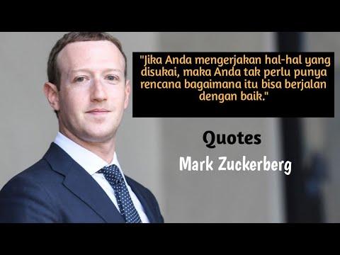 Kata Kata Quotes Bijak Motivasi Mark Zuckerberg Bikin Semangat Youtube