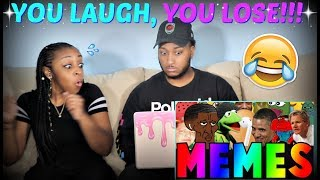 "TRY NOT TO LAUGH!! ""BEST MEMES COMPILATION V44"""