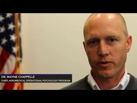Dr Wayne Chappelle, Chief, Aeromedical Operational Psychology - air force psychologist