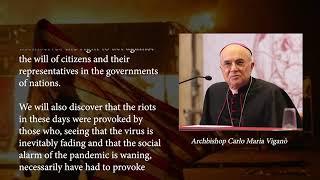 Aartsbisschop Vigano's brief aan President Trump (NL ondertiteld)