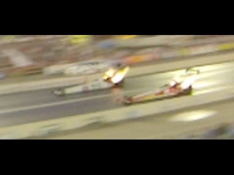 Earthquake? No. 11,000 HP Top Fuel Dragsters and Funny Cars Racing at 330 mph