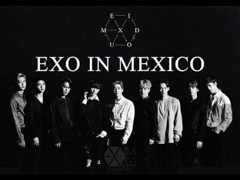 EXO´rDIUM IN MÉXICO CITY 27.04.2017 UNA HORA DE CONCIERTO
