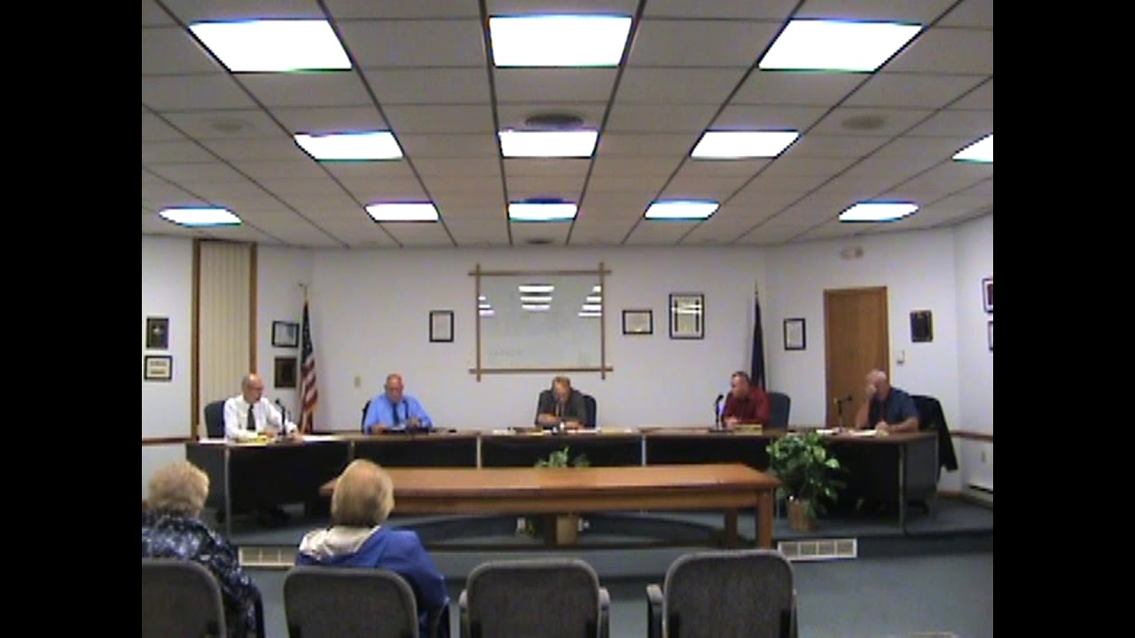 Rouses Point Village Board Meeting  10-1-18