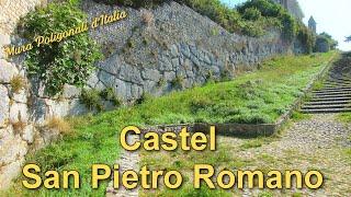 Castel San Pietro Romano - Mura poligonali d'Italia