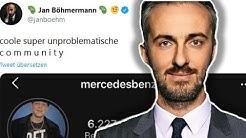 Jan Böhmermann stichelt gegen Montanablack & macht sich lächerlich!
