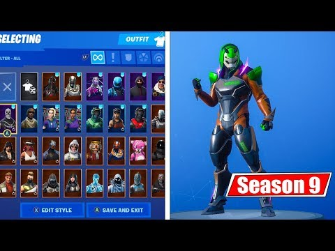 9 Seasons Of Me BUYING Fortnite Skins ($8000+ Spent)