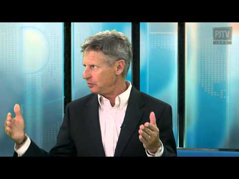Presidential Candidate Gary Johnson: How the Libertarian Party can be Viable