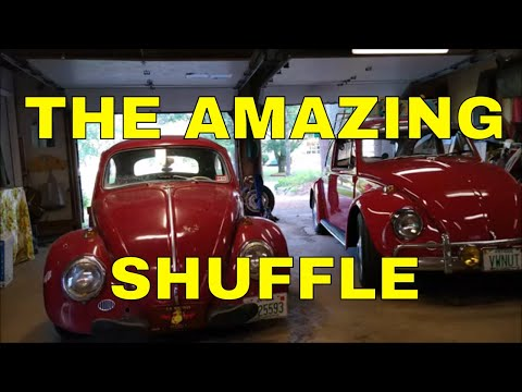 1964 AND 67 VOLKSWAGEN BUG SHUFFLE PLUS STORM FOOTAGE