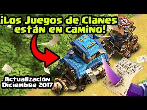 Se vienen los Juegos de Clanes (The Clan Games) Actualización Clash of Clans Diciembre 2017: