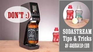 10 Sodastream Tips and Tricks. Bonus Tip: Don