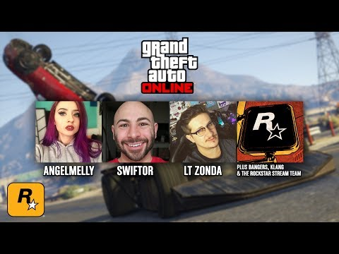 Special Vehicle Missions with ANGELMELLY, SWIFTOR & LTZONDA (GTA Online Live Stream)