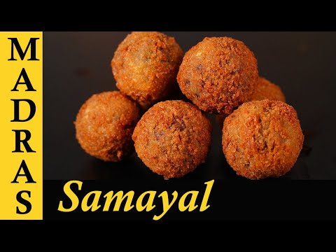 Vegetable 65 in Tamil | Meatless 65 Recipe in Tamil | Vegetarian Popcorn Balls