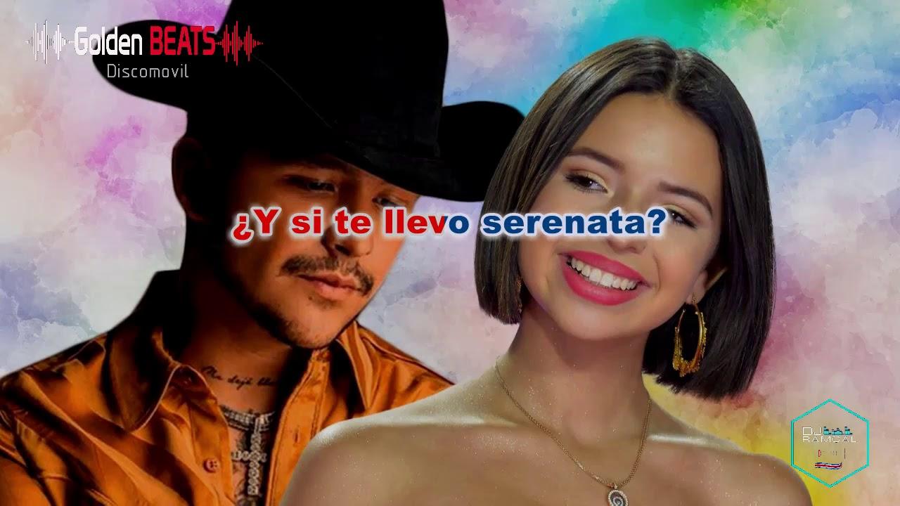 Christian Nodal, Angela Aguilar - Dime Cómo Quieres Karaoke (Dj RamCal)