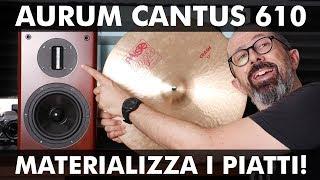 AURUM CANTUS 610: MATERIALIZZA I PIATTI!