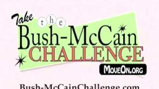 TV ad: Bush-McCain Challenge