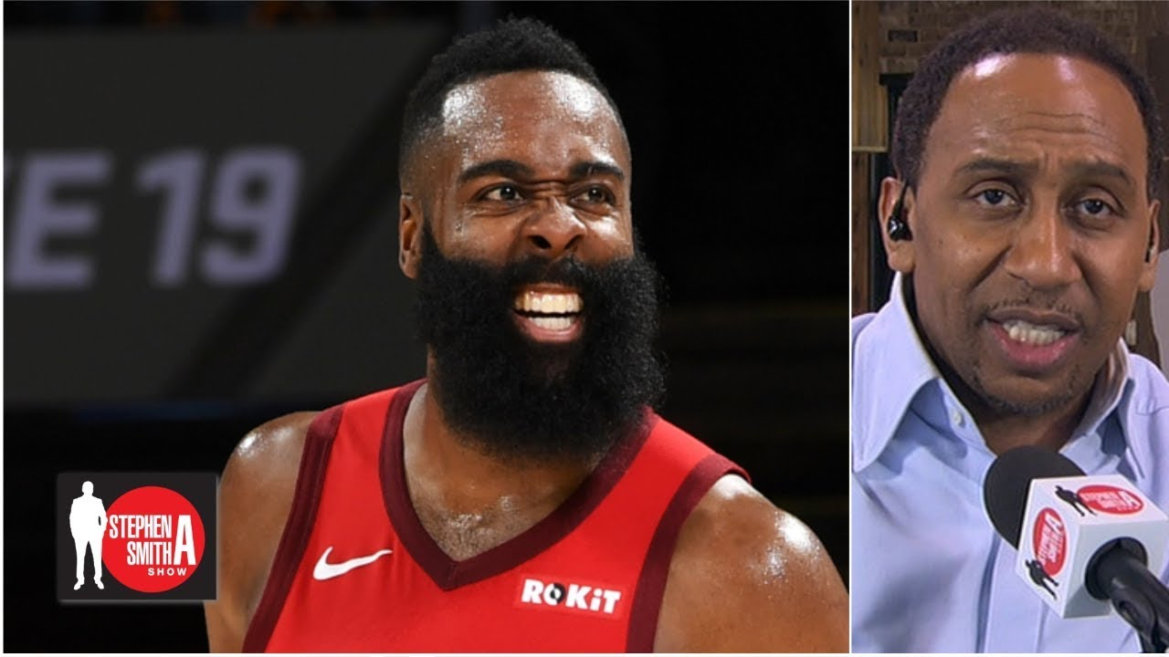 Stephen A. makes the case for James Harden's back-to-back MVP campaign | Stephen A. Smith Show