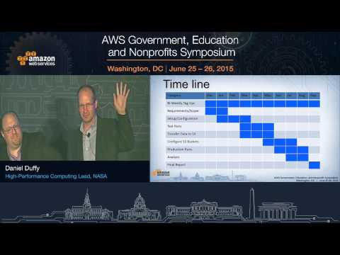 AWS Symposium - Washington, DC | NASA Head in the Clouds Success Story