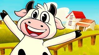 Lola the cow | Kids Song | Clap clap kids