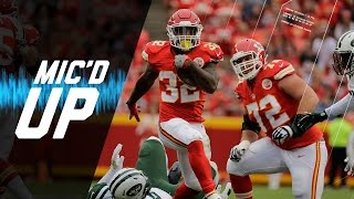 Spencer Ware Mic'd Up vs. Jets (Week 3) | Sound FX | NFL Films