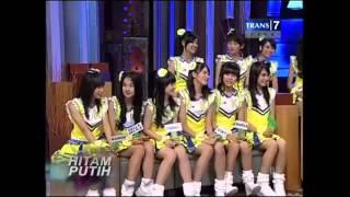 Hitam Putih 27 Juni 2013 Radja Nainggolan dan JKT48 part4