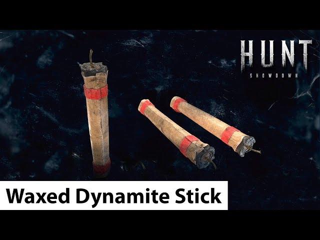 Waxed Dynamite Stick | Hunt: Showdown