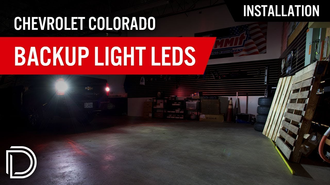 How To Install Chevrolet Colorado Backup Light Leds Youtube 2004 Chevy Silverado Reverse Wiring