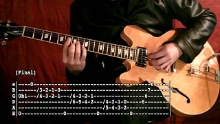 Gambar cover Robbie's Bit ( Thanks Chet ) - Guitar Tab Tutorial & Cover