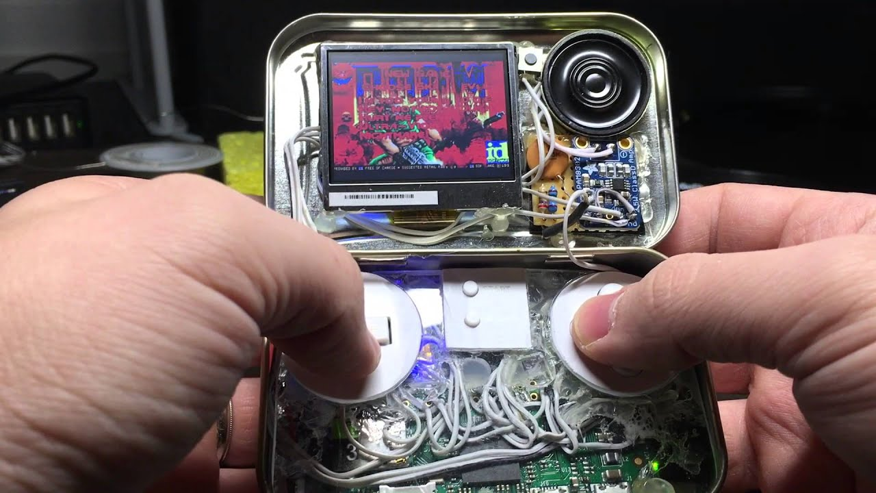 Mintypi A Raspberry Pi Zero Gaming Handheld Inside An