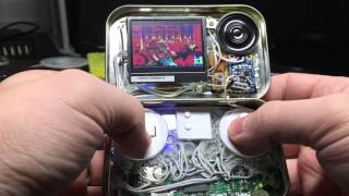 mintypi a raspberry pi zero gaming handheld inside an altoids tin