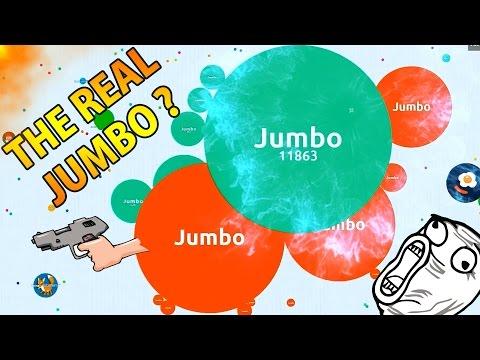 WHO IS THE REAL JUMBO? - Solo Agar.io Gameplay (30K & 57K Score)