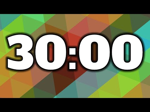 30 minute timer/countdown