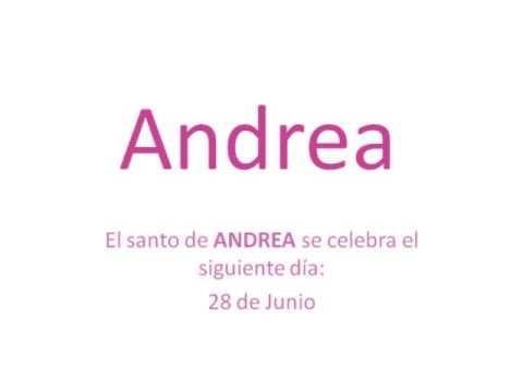 Significado Del Nombre Andrea Te Lo Contamos Todo