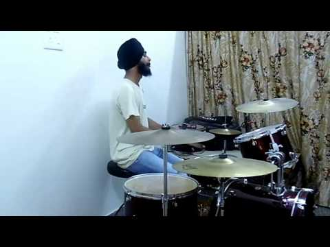 Jind Mahi ( Sunidhi Chauhan ) -  Angrej ( Drum Cover )