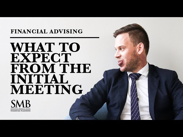 SMB - Financial Planning - The Initial Meeting Brief Overview