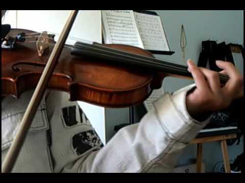 Street Fighter IV - Theme of Sakura [violin]