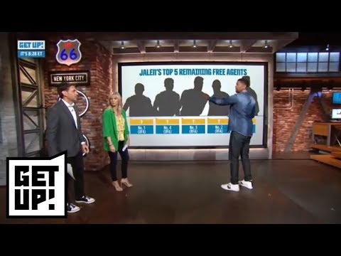 Jalen Rose Has Clint Capela, Marcus Smart Among Top 5 NBA Remaining Free Agents | Get Up! | ESPN