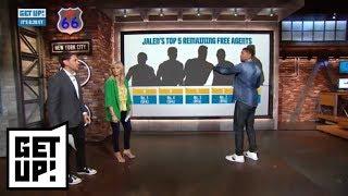 Jalen Rose has Clint Capela, Marcus Smart among top 5 NBA remaining free agents   Get Up!   ESPN