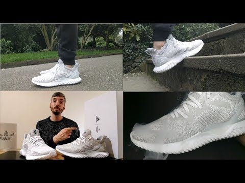 Adidas X Reigning Champ Alphabounce Beyond On Feet, Comfort, Weight And Breath-ability Review